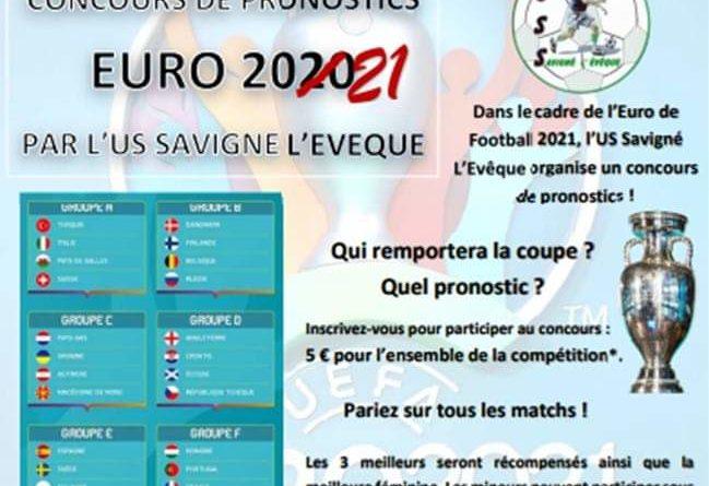 Concours Pronostics Euro 2021